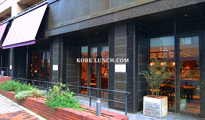 【ザプレイスコウベ】 三宮トアロードの上質感溢れるカフェ【神戸】