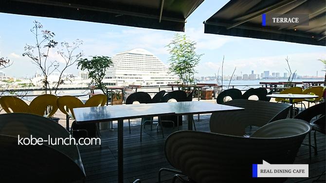ウミエ モザイク リアルダイニングカフェ REAL DINING CAFE