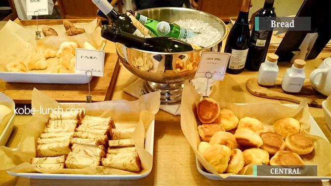 神戸三宮セントラルパン食べ放題ランチ
