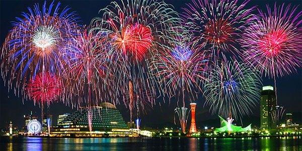 【開催時間8月5日19:30~】第47回みなとこうべ海上花火大会【神戸港メリケンパーク】