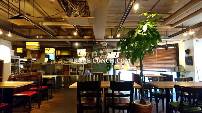 【ハナゾノカフェ】女子会ランチでゆっくりお喋り【HANAZONO CAFE神戸元町】