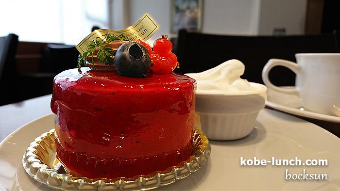 ボックサンのケーキ