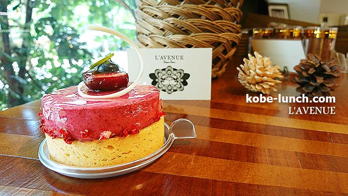 ラヴニュー 神戸北野のケーキ