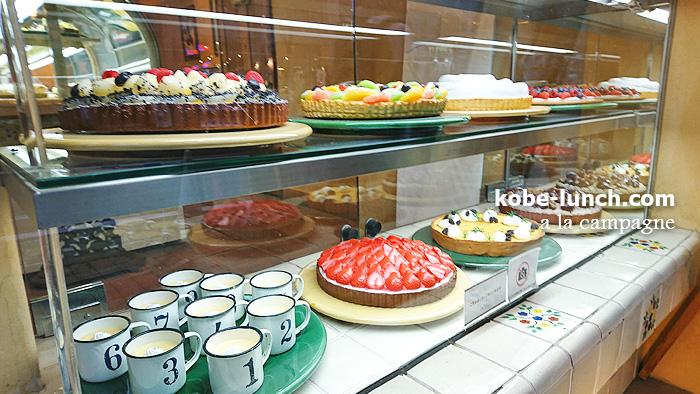 ア・ラ・カンパーニュ タルトケーキ
