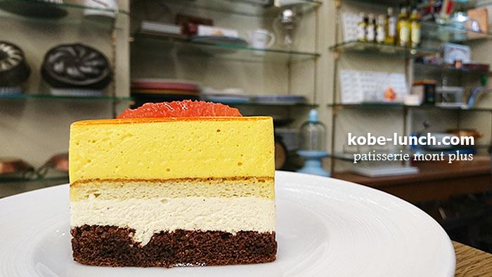 元町モンプリュのケーキ