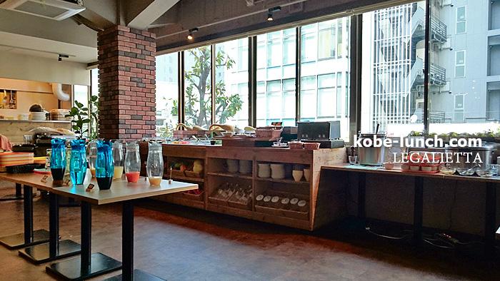 神戸三宮のバイキングランチ店レガリエッタ
