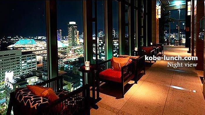 神戸 オリエンタルホテル  夜景