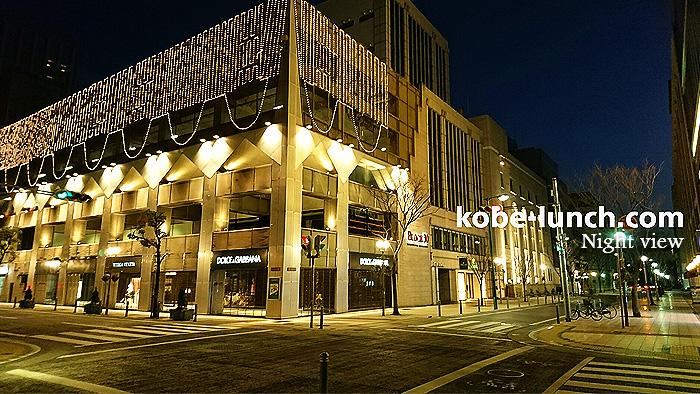 神戸居留地の夜景
