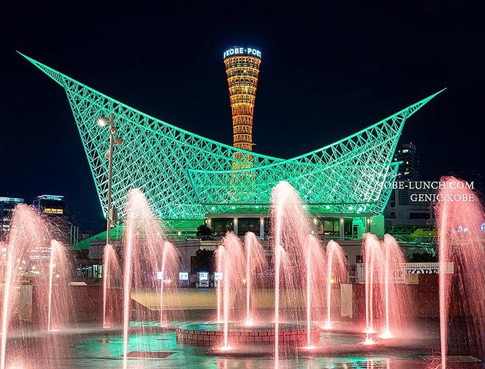 神戸ポートタワー夜景