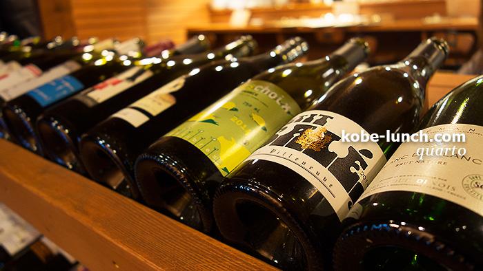 三宮トアロード quarto ワイン