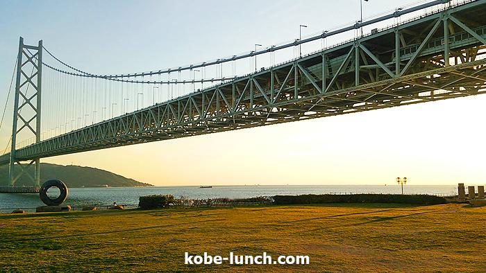 明石海峡大橋 綺麗
