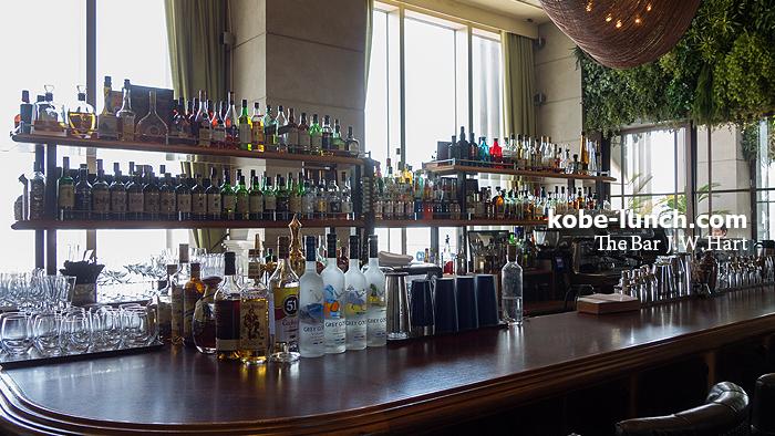 オリエンタルホテル 旧居留地 The Bar J.W.Hart インテリア