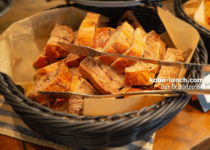 ビストロ64パン食べ放題ランチ