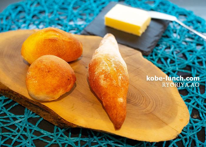 料理屋アオ 須磨 パン