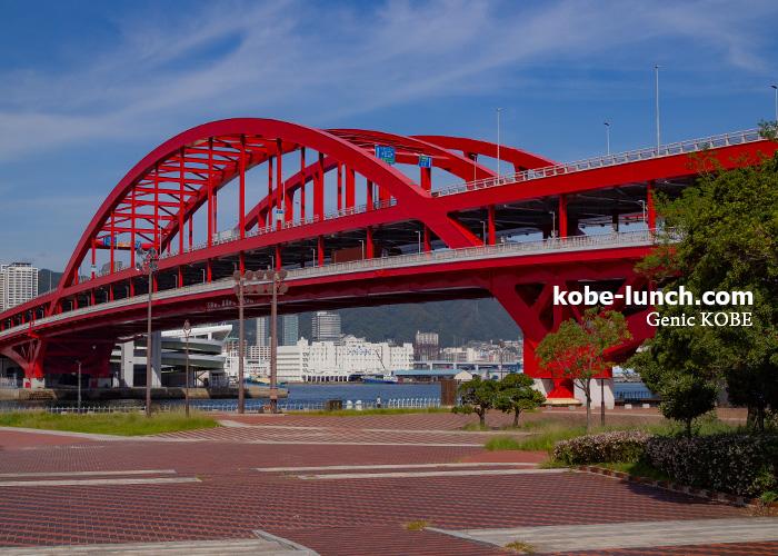 神戸ポートアイランド 神戸大橋