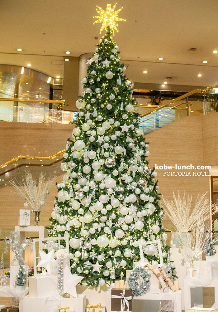 ポートピアホテル クリスマスツリー