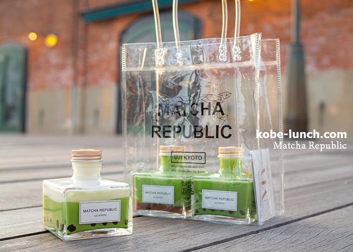 抹茶共和国透明バッグ