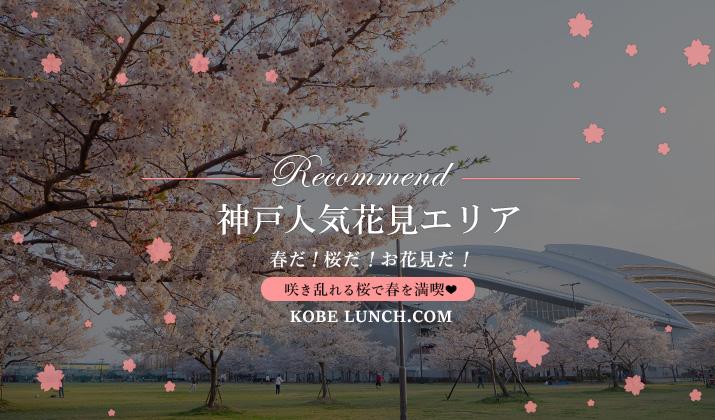 【神戸で人気の花見スポット 2020】春だ!桜だ!お花見だ!【名所・穴場】