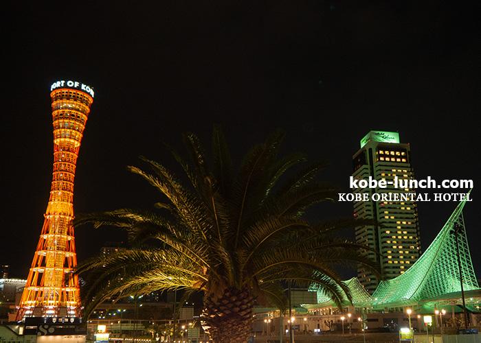 オリエンタルホテル夜景