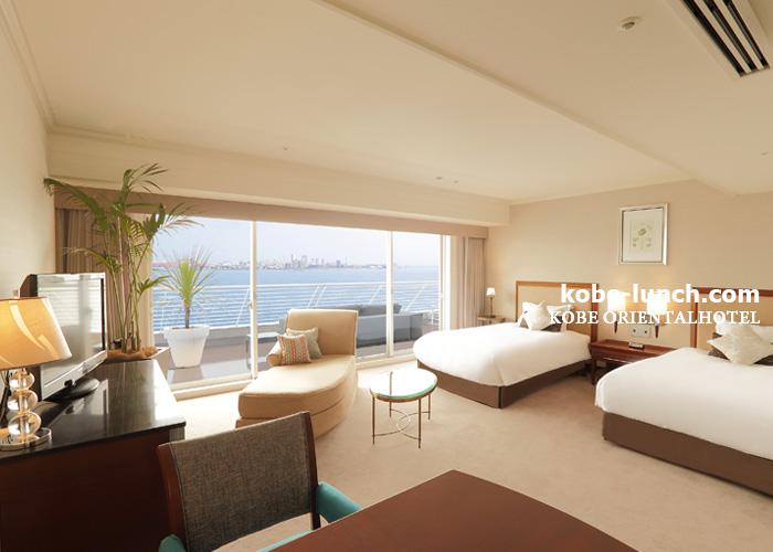 神戸メリケンパークオリエンタルホテル 部屋