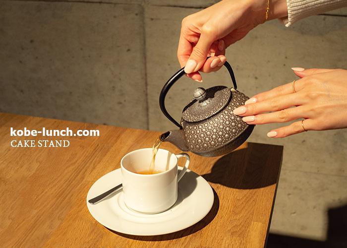 ケイクスタンド 紅茶