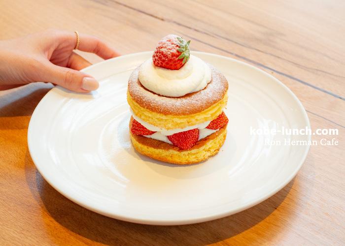 ロンハーマンカフェ ショートケーキ