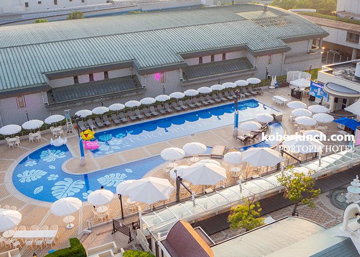 ポートピアホテル プール