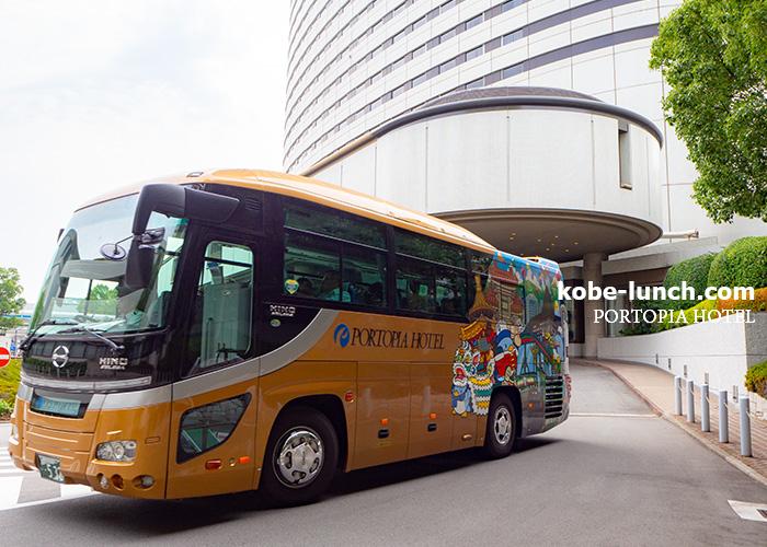 ポートピアホテル運行バス