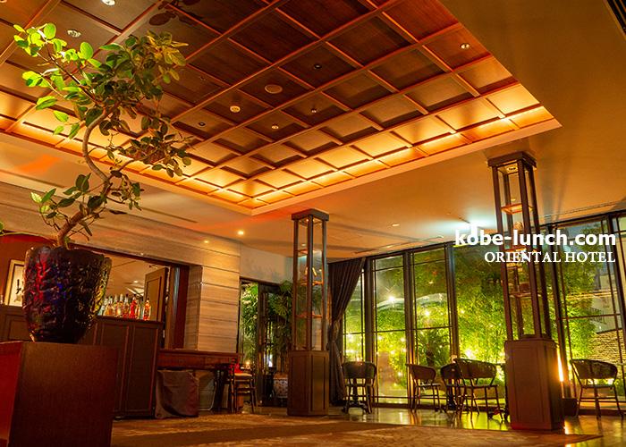オリエンタルホテル ビアガーデン
