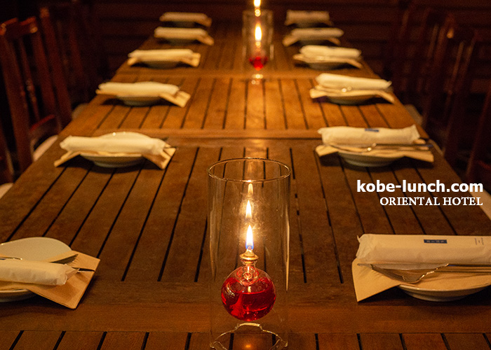 オリエンタルホテル神戸 bar ビアガーデン