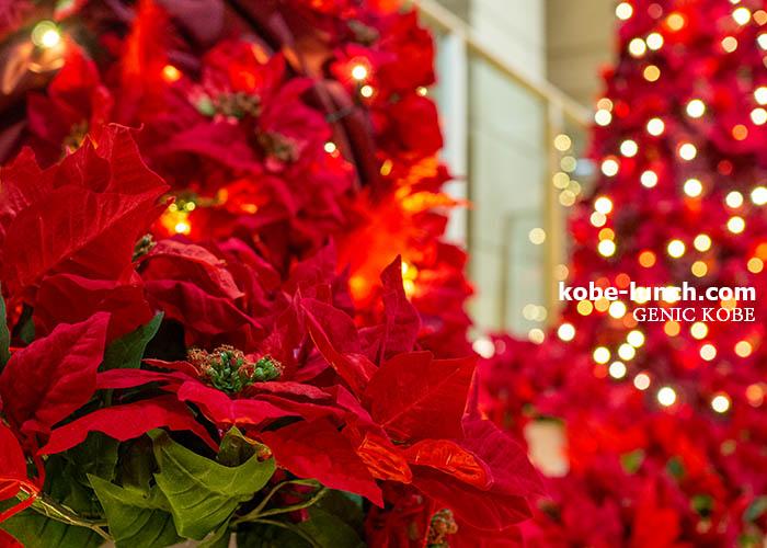 メリケンパークオリエンタルホテル クリスマスツリー