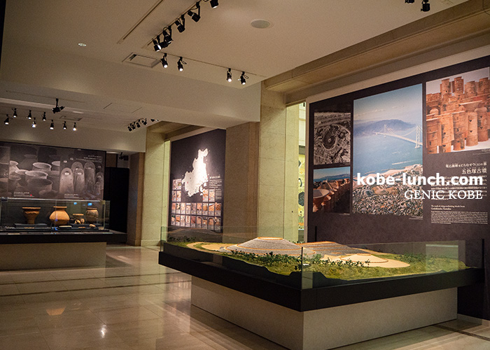 神戸の歴史展示室 1階