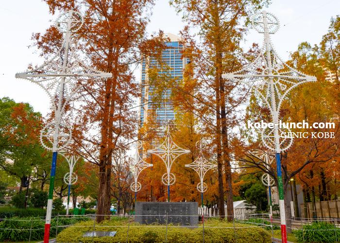神戸市役所前・東遊園地