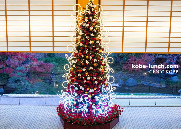 ホテルオークラ神戸 クリスマスツリー