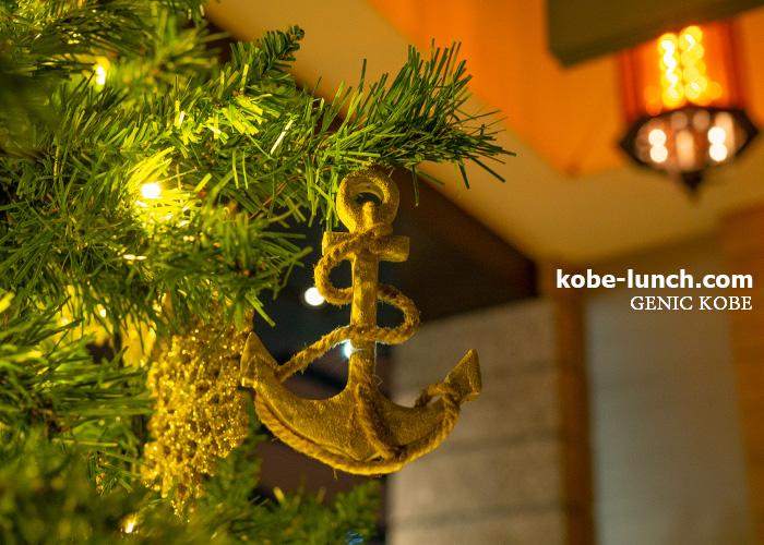 神戸オリエンタルホテルホテル  クリスマスツリー