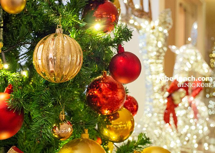 メリケンパークオリエンタルホテルのクリスマスツリー