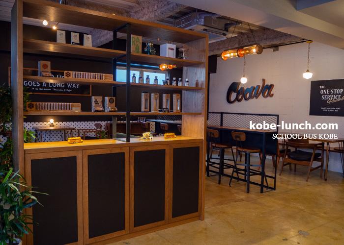 SCHOOL BUS COFFEE STOP神戸 インテリア
