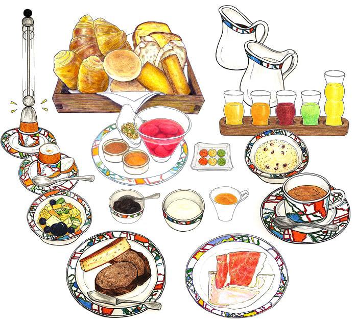 神戸北野ホテル 世界一の朝食