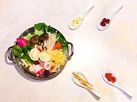 Hong Kong Hot Pot Cafe 甜蜜蜜】クレフィ三宮