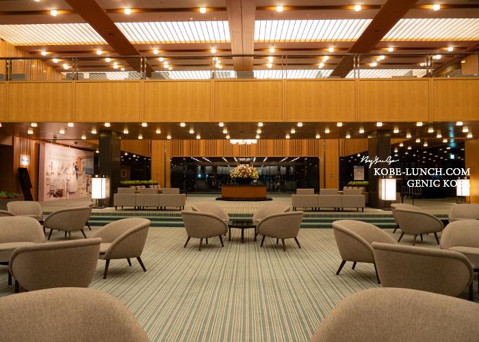 ホテルオークラ神戸のロビー
